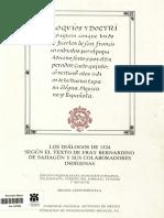 FRAY BERNARDINO de SAHAGÚN, Coloquios y Doctrinas [Ed, Fascimilar M. León Portilla], 1986