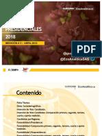 Presentación 5ta medición Guarumo Elecciones 2018