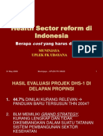 9 Health Sector Reform Di Indonesia