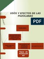 Usos y Efectos de Las Puzolanas