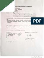 Surat Kesamaan Isi Dokumen