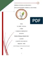 Tratado de Libre Comercio Perú Panamá, Alarcón Cano Grace Doris