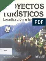 Proyectos Turísticos Localización e Inversión de Fabio Cárdenas PDF