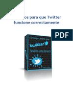 Consejos Para Que Twitter Funcione Correctamente