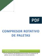 Compresor de Paletas
