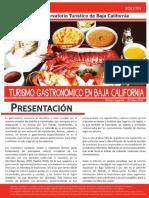 Boletín Turismo Gastronómico