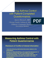 Asthma Questionnaires - Donnell (9 09)