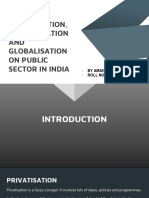 IMPACT OF PRIVATISATION, LIBERALISATION AND GLOBALISATION ON PUBLIC SECTOR IN INDIA.pptx