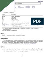 Linear Combinations of Estimators
