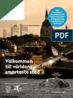 Smart City Concept -- Stockholms stad