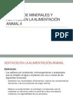 6 Fuentes de Minerales y Aditivos en La Alimentación Animal II