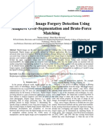 Copy-Move Image Forgery Detection Using