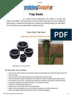 Trap Seals