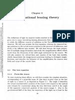Gravitational Lensing Theory