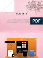 humidity animation presentation.English task.