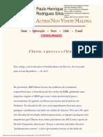 [phrs_14] Olavo de Carvalho - Artigos de periódicos, entrevistas e outros