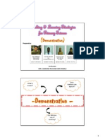 Teaching & Learning Strategies for Primary Science (Demonstration)