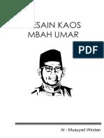Desain Kaos Mbah Umar-1