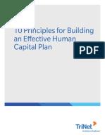 10 Principles Hc Plan