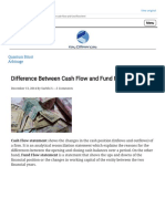 Difference Between Cash Flow and Fund Flow Statement (With Comparison Chart) - Key Differences