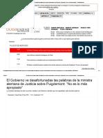 El Gobierno Ve Desafortunadas Las Palabras de La Ministra Alemana de Justicia Sobre Puigdemont_ _No Es Lo Más Apropiado_ - Bolsamanía.com