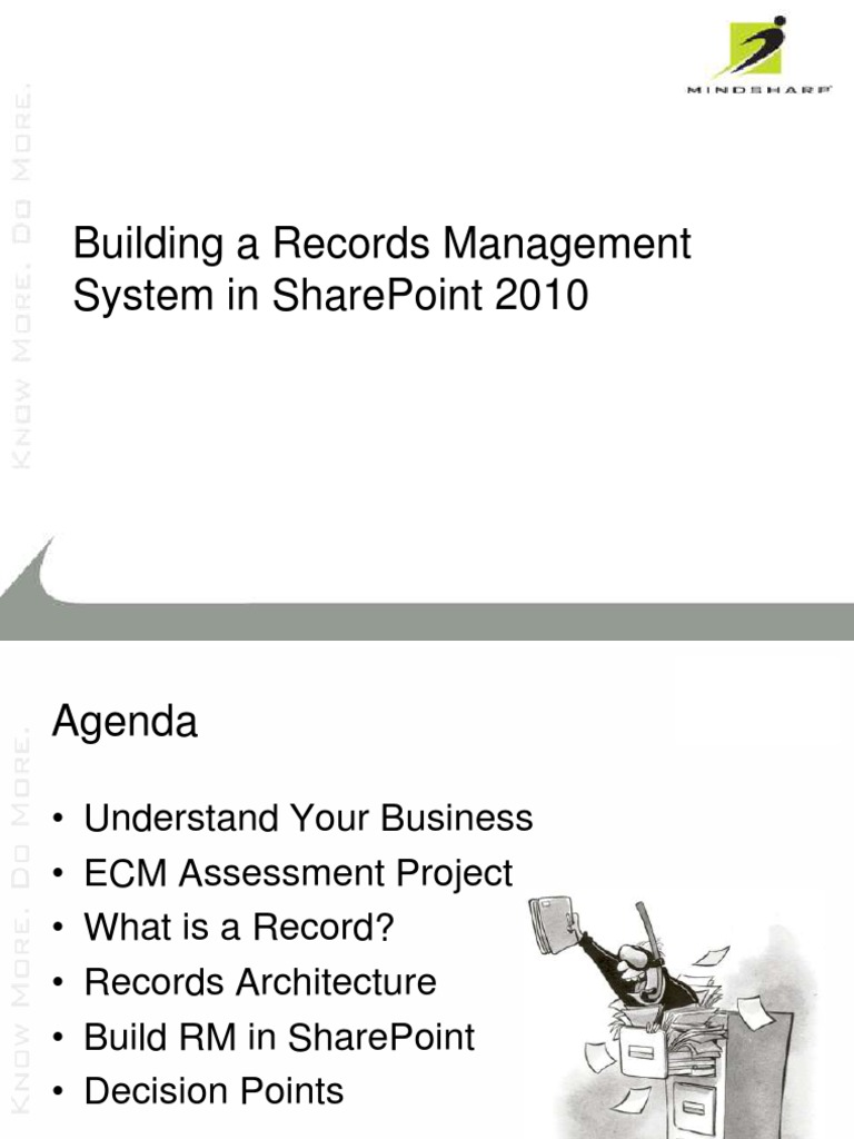 Archive and records management youtube.