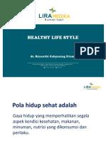 Health Talk Healthy Lifestyle