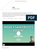 Savedroid (SVD) - ICO Rating and Details _ ICObench