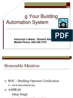 Managing Your Building Automation System