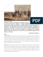 Convenio de Vergara (Foto y Texto)