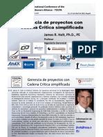 1. James Holt - VisualProjectManagement_39_TOCPA_12-13 April 2018 Colombia - Spn