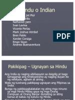 Hindu Makabayan Present... Group 3