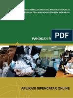 Tata Cara Pendaftaran Sipencatar 2018 Ver 1.1