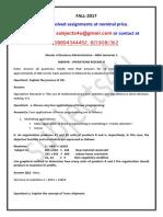 Mb0047 – Management Information System