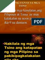 Pakikipag-Ugnay Sa Mga Tsino