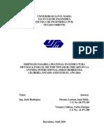 TESIS DISEÑO PASARELA PEATONAL EN ESTRUCTURA METALICA, UNIVERSIDAD SANTA MARÍA, BARCELONA, VENEZUELA