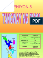 Rehiyon 5 - Tangway Ng Bicol
