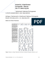 Antigo Testamento Interlinear Hebraico-Portugues B