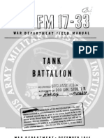 FM 17-33 Tank Battalion