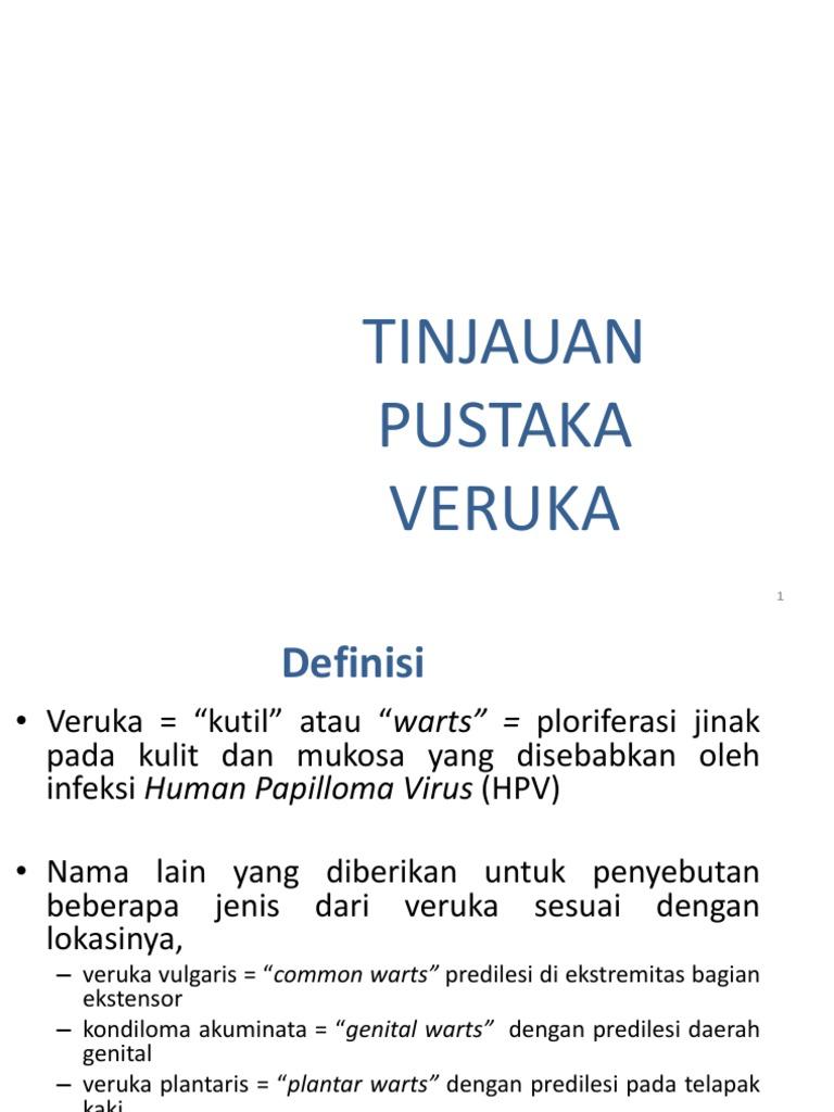 papilloma virus verruca genitale