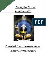 Shiva the God of Auspicious Ne Ssssss