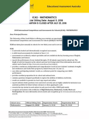 ICAS | Educational Assessment | Behavior Modification