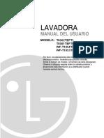 Manual de Lavadora
