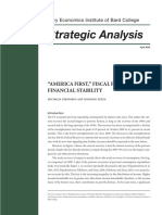 Amercia First Fiscal Policy and Financial Stability