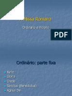 A Missa Romana