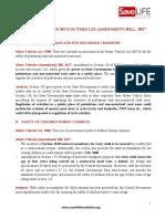 MVA Bill 2017 Analysis