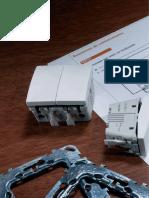 ELECTRICIDAD Detalles Técnicos Esquemas de Conexión de Mecanismos Serie ÚNICA