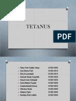 ppt tetanus