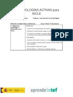 Plantilla Metodologías Activas para AICLE-2
