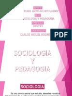 Presentation Sociologia y Pedagogia 2016